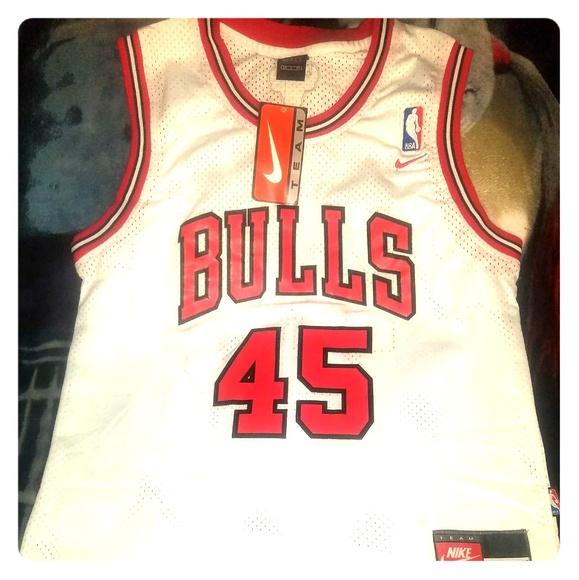 2015ea188 Michael Jordan Chicago Bulls Rare 45 Jersey SIZE S